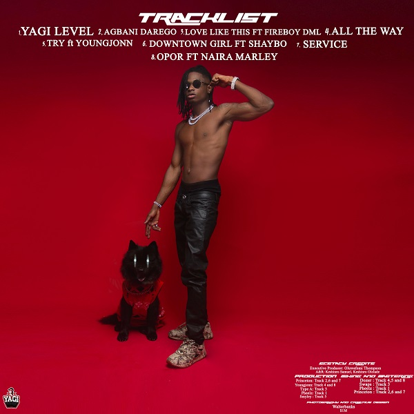Lil Kesh Ecstasy Tracklist