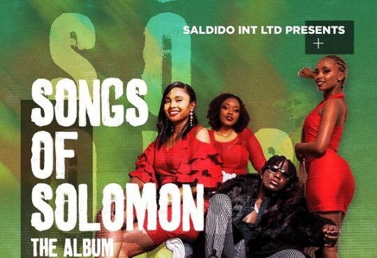 Willy Paul Songs of Solomon Album