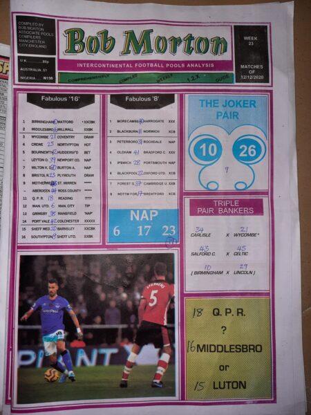 week 23 bob morton 2020 page 1