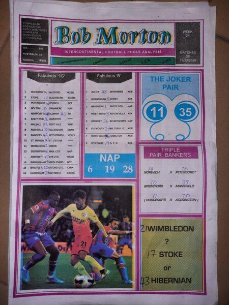 week 24 bob morton 2020 page 1