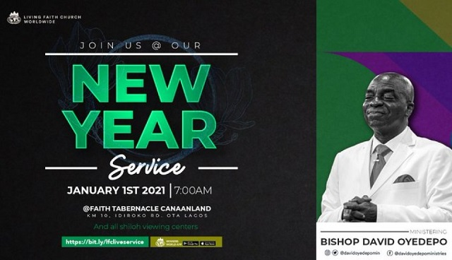 Bishop David Oyedepo Prophecies for 2021