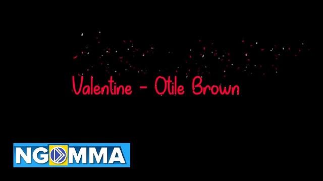 Otile Brown Valentine
