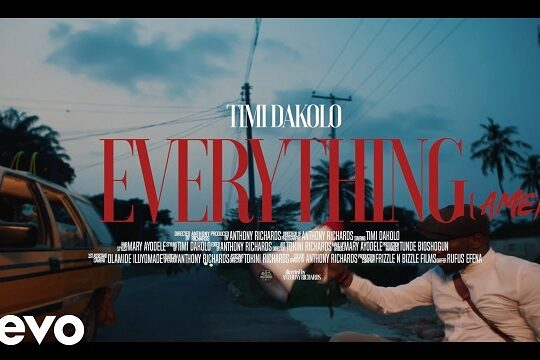 Timi Dakolo Everything Amen Video