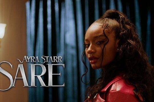 Ayra Starr Sare Video
