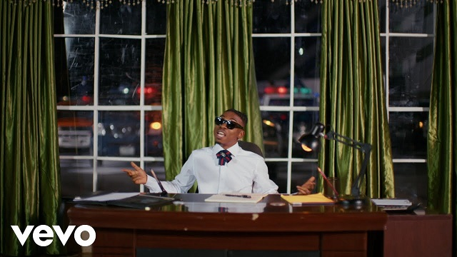 Mayorkun Back in Office Video
